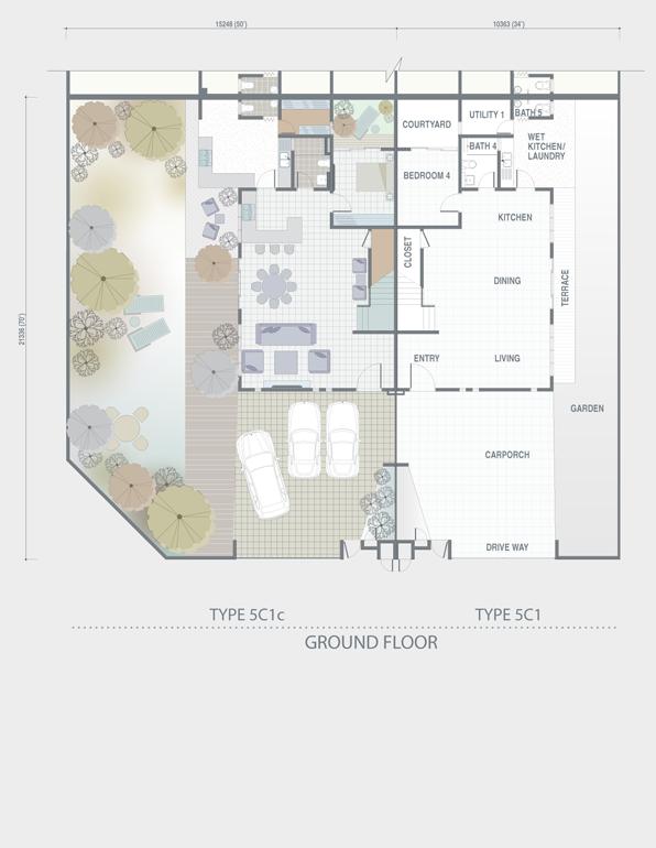 The Grey Stones Precinct Floor Plan Property Johor Bahru - Cluster home floor plans