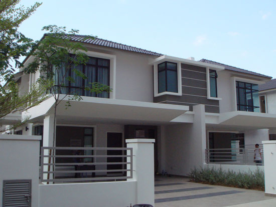 2 storey semi detached house plans house design plans for Semi detached house design