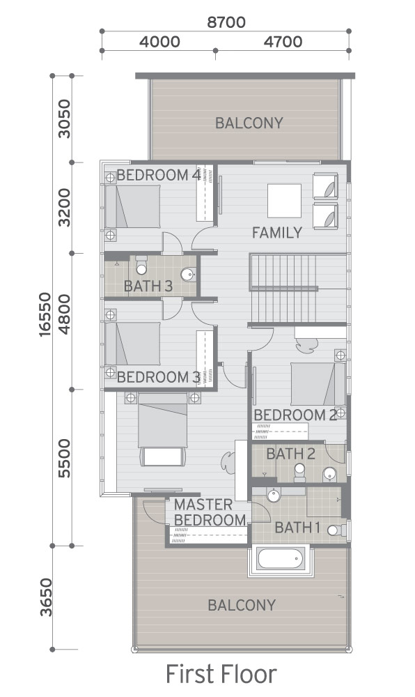 Malaysia house plan floor plan bungalow house in malaysia for Malaysia house plan