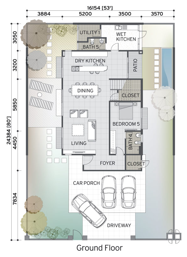 Bungalow House Plan Malaysia Home Design And Style