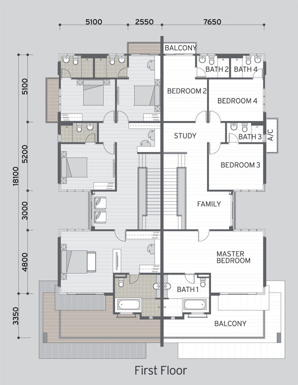 Semi detached house plans malaysia - House plans